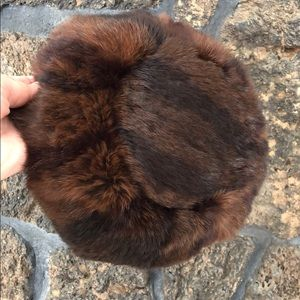 Marcy Madsen Vintage Real Fur Winter Hat